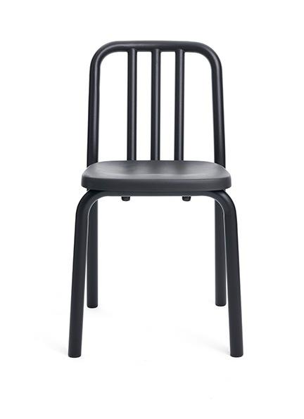 silla tube negra