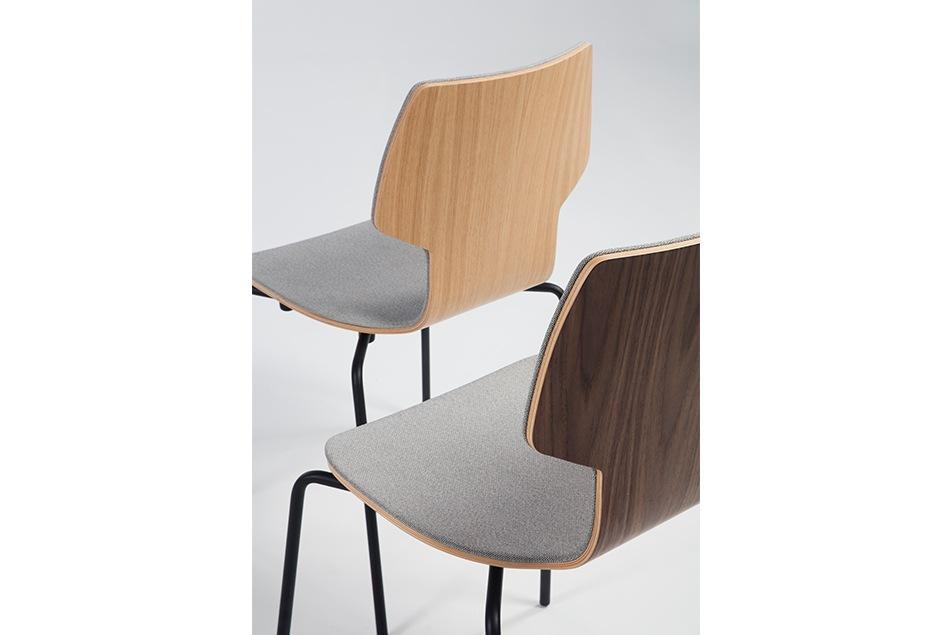 Mobles 1114 - silla textil gracia